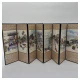 Oriental Table Top Decorative Screen