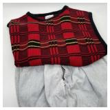 Vintage Bugle Boy  Jeans w/Sweater Vest