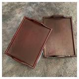 Wood & Cloth TV/Lap Trays