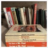 CookBooks w/Wood Rack