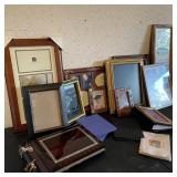 Picture Frames w/Photo Books