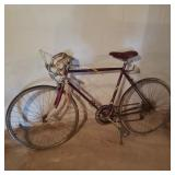 Vintage Murray Red Bicycle