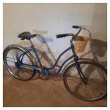 Vintage Western Flyer Blue Bicycle
