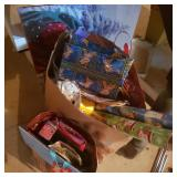 Lot of Gift Bags and Wrapping Holiday