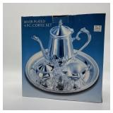Silver Plate Coffee Set In Box Sealed