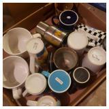 Flat of Coffee Cups