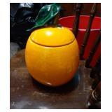 Orange Cookie Jar