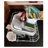 Dish Drainer and Contents