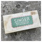 Vintage Singer Buttonhole Attachment 121795