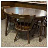 Vintage Kitchen Table w/4 Chairs Yugoslavia