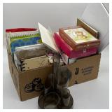 Office Supplies w/Mixed Greeting cards
