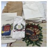 Linen, Crochet Lot