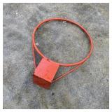Basketball Hoop No Net