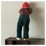 Vintage Doll, Hide & Seek, 30 inches Tall