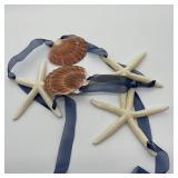 Starfish & Seashell Hanging Decoration