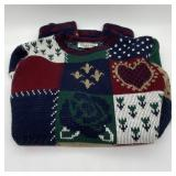Private Eyes Sweater w/Hearts