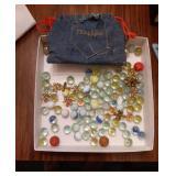 Vintage Marbles and Jacks