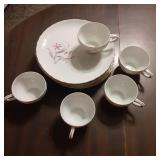 Tea Cups and Plates Made in Japan