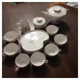 Noritaki China Tea Set