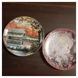 Signed and Numbered Collectable Plates