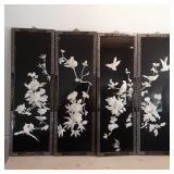 Four 3D Bird Panels