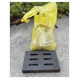 Metal Small Smoker Box (6 x 4) w/Wood Chips