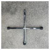 Four Way Tire Iron (Black Ends)