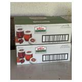 Kerr 8 Ounce Canning Jars (1 Box Unopened)