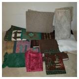 Lot of Tablecloths & Linens