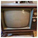 Vintage Zenith Television Console