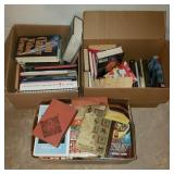 3 Boxes of Books w/ Tom Clancy