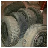 Lot of Tires