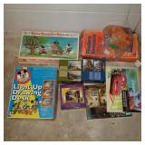 Lot w/ Board Games & Finders Keepers