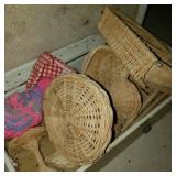 Wicker Basketry Lot