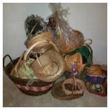 Large Lot of Baskets