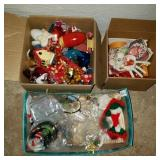 3 Boxes of Ornaments