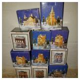 Large Lot of Christmas Villages