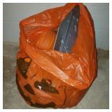 Jack O Lantern Bag of Halloween Decor