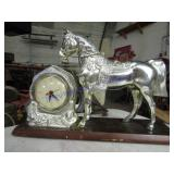 HORSE TV CLOCK