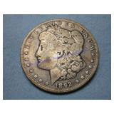 1892D MORGAN DOLLAR