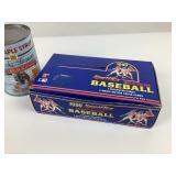 Paquets Neufs de cartes Baseball Magic Motion 1990