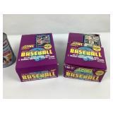 Paquets Neufs de cartes Baseball SCORE Series 2 -
