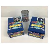 Paquets Neufs de cartes Baseball SCORE 1989