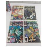 4 comic books Strange Tales 1987 #2-78-12