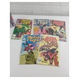 5 comic books Alpha Flight 1980