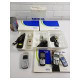 3 téléphones Nokia vintage