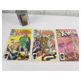 3 comics 1980 X-Men 186-192-197
