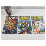 3 comics 1988 XMEN 228-237-238