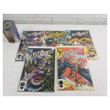5 comics 1985-86 Elfquest 5-6-90-10-11