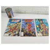 3 comics années 1980 Flash 10-17-18